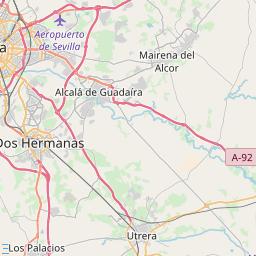 Moron Spain Map.Moron De La Frontera Hotels And Apartments J2ski