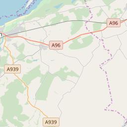 Nairn Scotland Map.Nairn Hotels And Apartments J2ski