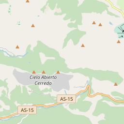Map of Leitariegos