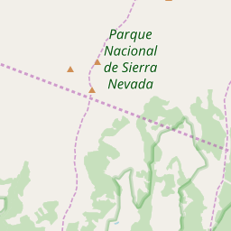 Map of Sierra Nevada