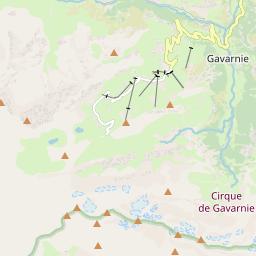Map of Gavarnie Gèdre