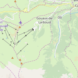 Map of Peyragudes