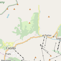 Map of Canillo