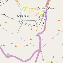Map of Pas de la Casa / Grau Roig