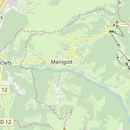 Map of Manigod