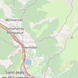 Map of Le Corbier