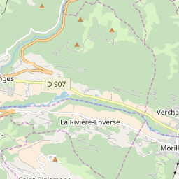 Map of Morillon