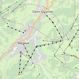 Map of Grand Massif