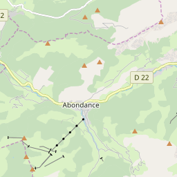 Map of Abondance