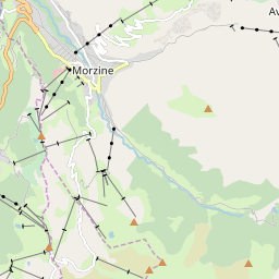 Map of Morzine