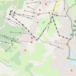 Map of Les Arcs