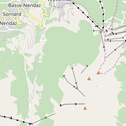 Map of Nendaz