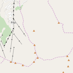Map of Pila