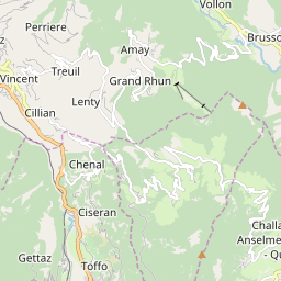 Map of Brusson
