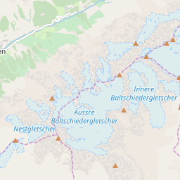 Map of Lötschental