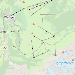 Map of Wengen