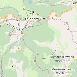 Map of Feldberg