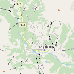 Map of Engelberg