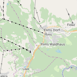 Map of Flims