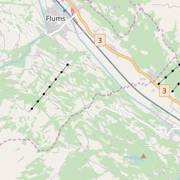 Map of Flumserberg