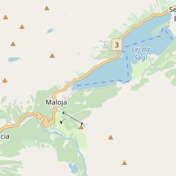 Map of Maloja