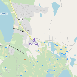 Map of Gålå