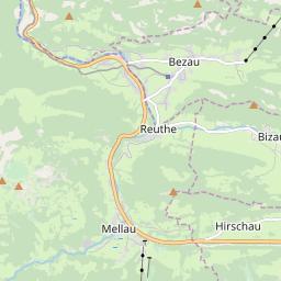 Map of Mellau