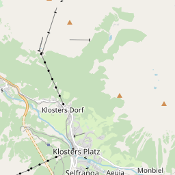 Map of Klosters