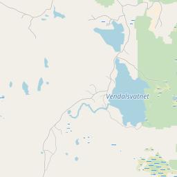 Map of Kvitfjell