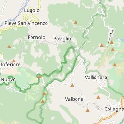 Map of Cerreto Laghi
