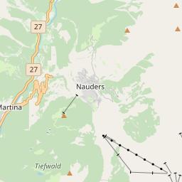 Map of Nauders