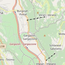 Map of Lana