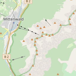 Map of Mittenwald