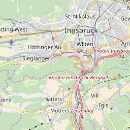 Map of Innsbruck