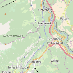 Map of Stubai