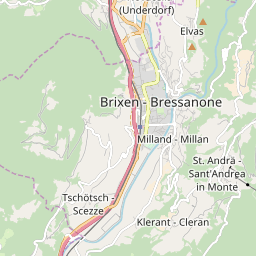 Map of Brixen / Plose