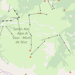 Map of Alpe di Siusi/Seiser Alm
