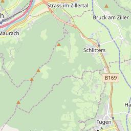 Map of Fügen