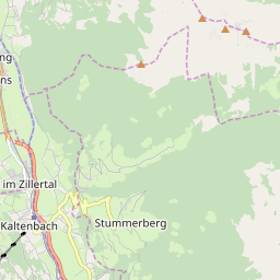 Map of Kaltenbach