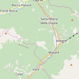 Map of Alleghe