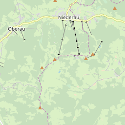 Map of Niederau