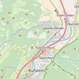 Map of Kufstein