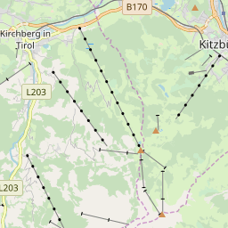 Map of Kitzbühel