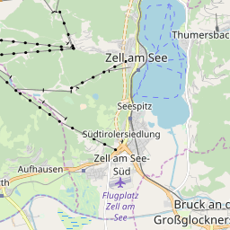 Map of Zell am See