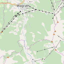 Map of Wagrain