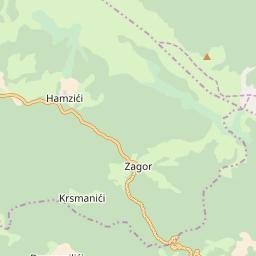 Map of Jahorina