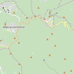 Map of Mátra