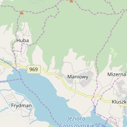 Map of Bialka Tatrzańska