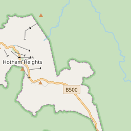 Map of Hotham