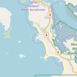 Tofino Canada Map.Tofino Hotels And Apartments J2ski